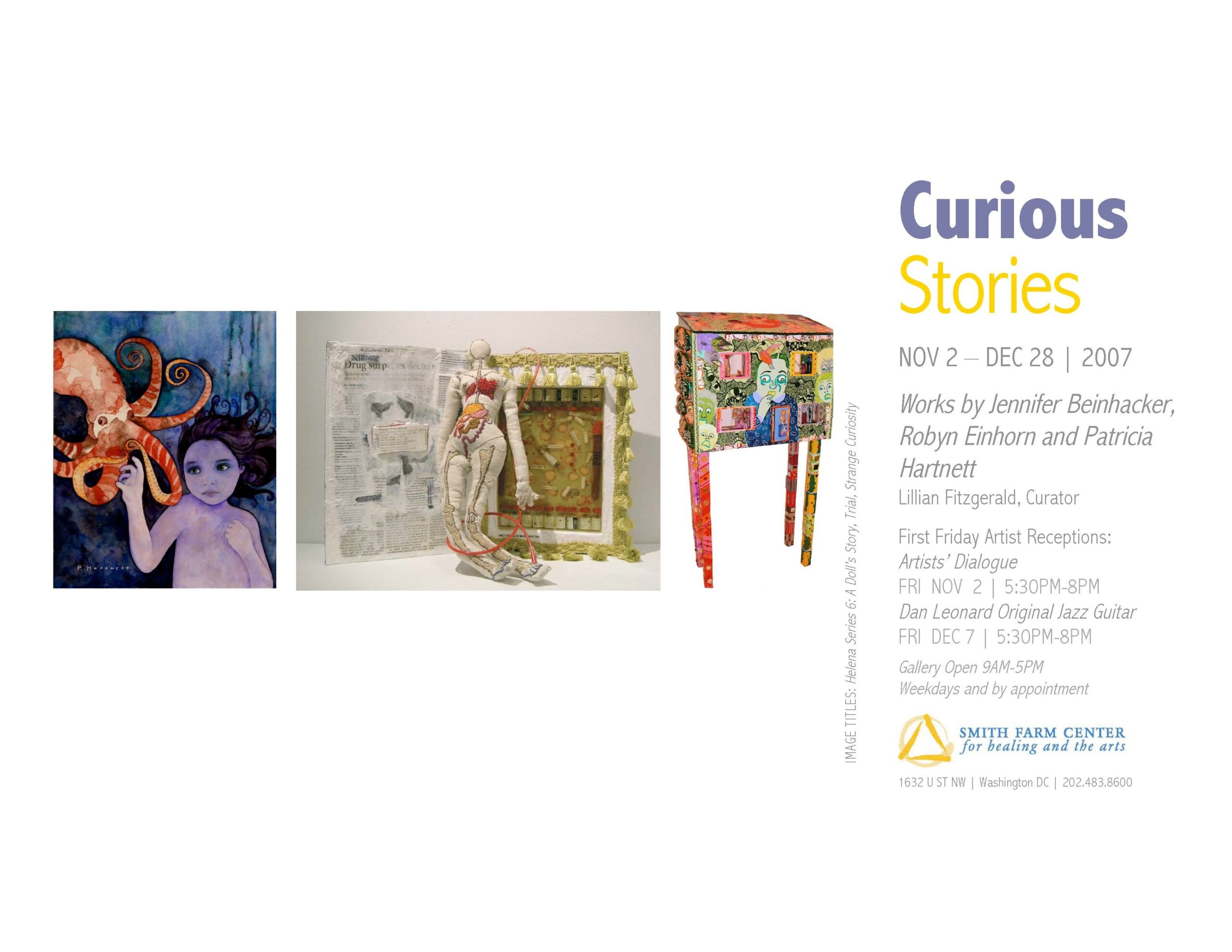 Smith Center for Healing and the Arts Gallery: Curious Stories
