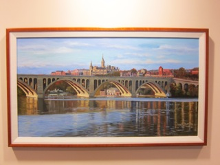 Bridge to Georgetown by Jane McElvany Coonce